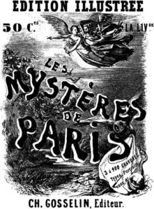 affiche les mysteres de paris