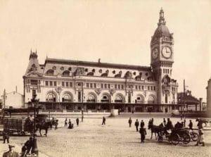 gare de lyon paris 19ème siècle